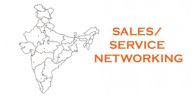 Sales & Service Dealer Network Locations