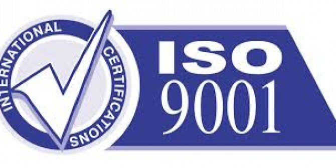 Certified ISO 9001 – 2008
