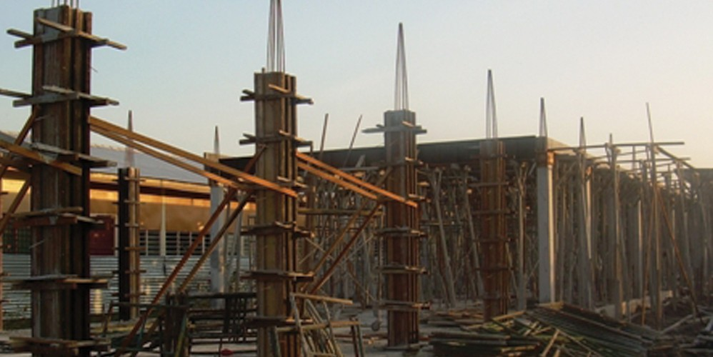 2008 – Construction of new factory at NCR started