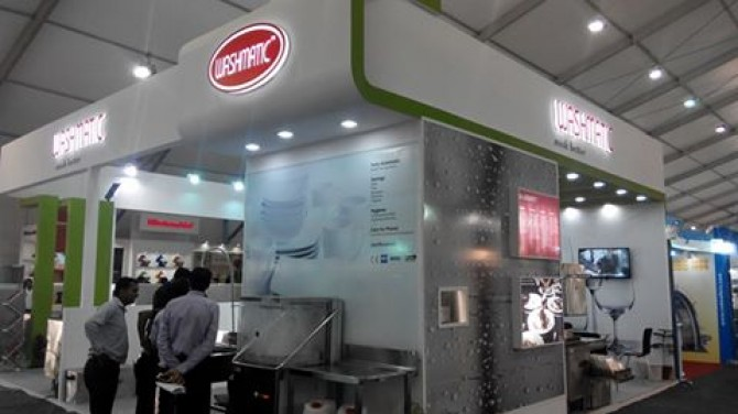 Exhibited in Aahar 2016