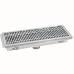 Drain Trough With Grating